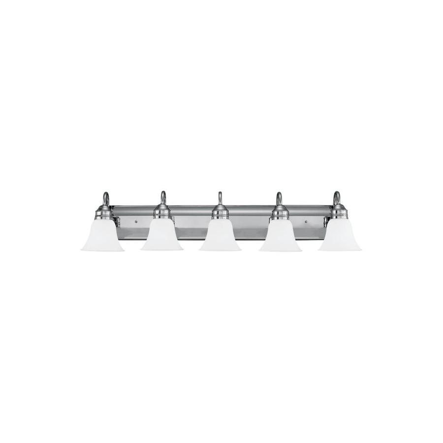 Sea Gull Lighting Gladstone 5-Light Chrome Vanity Light