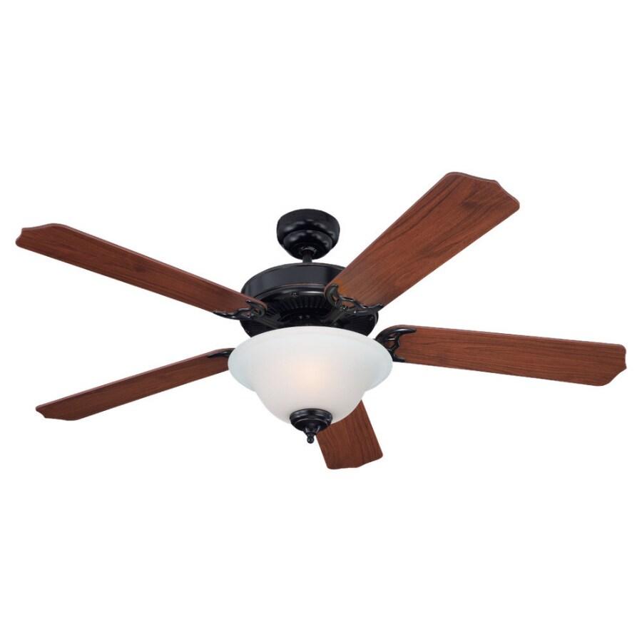Sea Gull Lighting 52-in Multi-Position Ceiling Fan with Light Kit ENERGY STAR