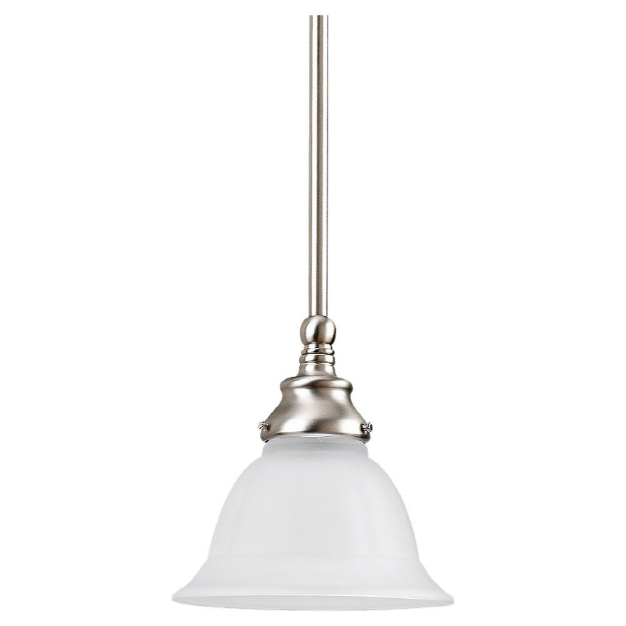 Sea Gull Lighting 8-in W Kitchen Island Light with Shade