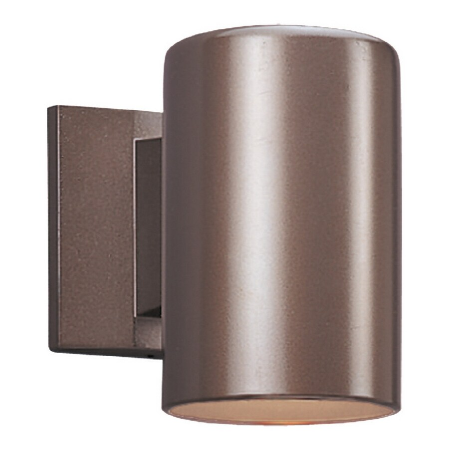 Sea Gull Lighting 7-in H Bronze Dark Sky Outdoor Wall Light