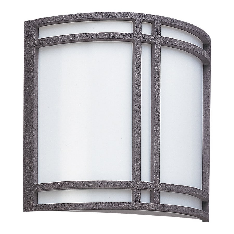 Sea Gull Lighting 2 Light Wrought Iron Bathroom Vanity Light