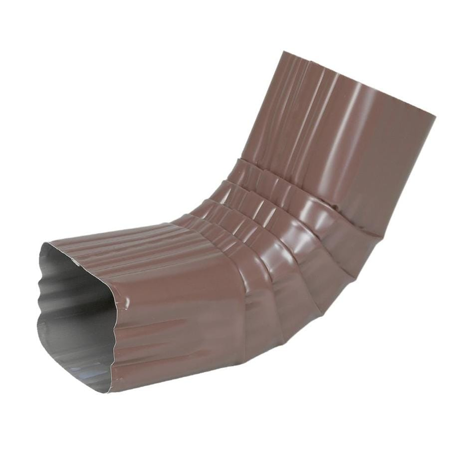 Spectra 2-in Brown Metal Front Elbow