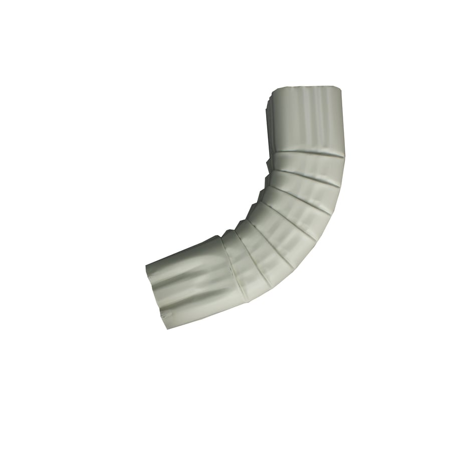 Spectra 2-in Almond Metal Front Elbow