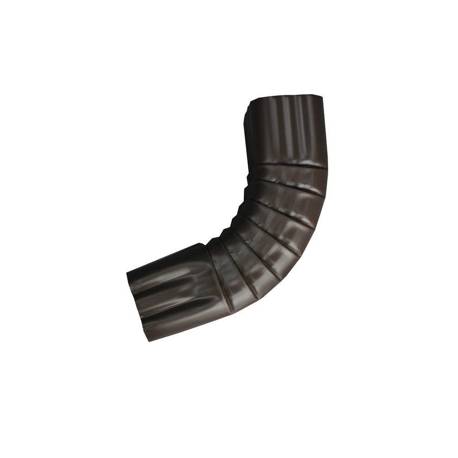 Spectra 2-in Musket Brown Metal Front Elbow