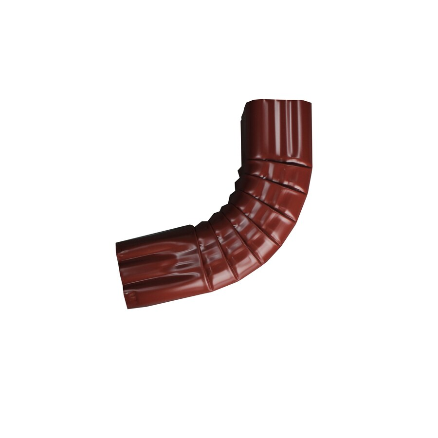 Spectra 2-in Scotch Red Metal Front Elbow