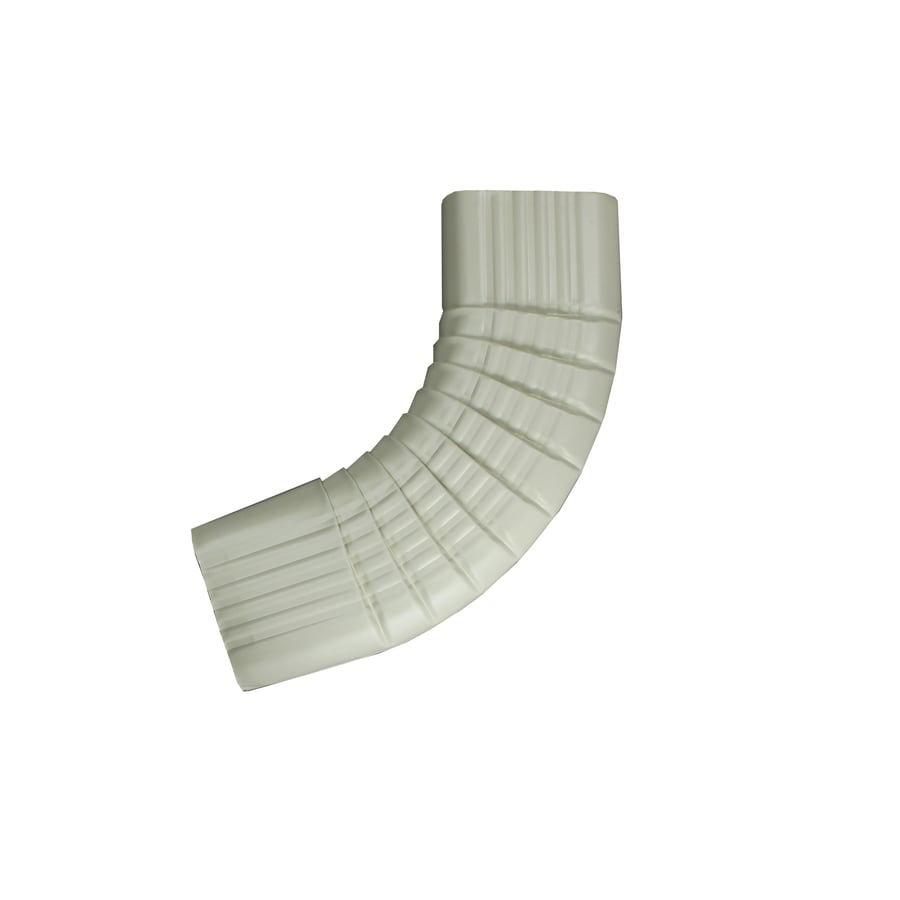 Spectra 2-in Almond Metal Side Elbow