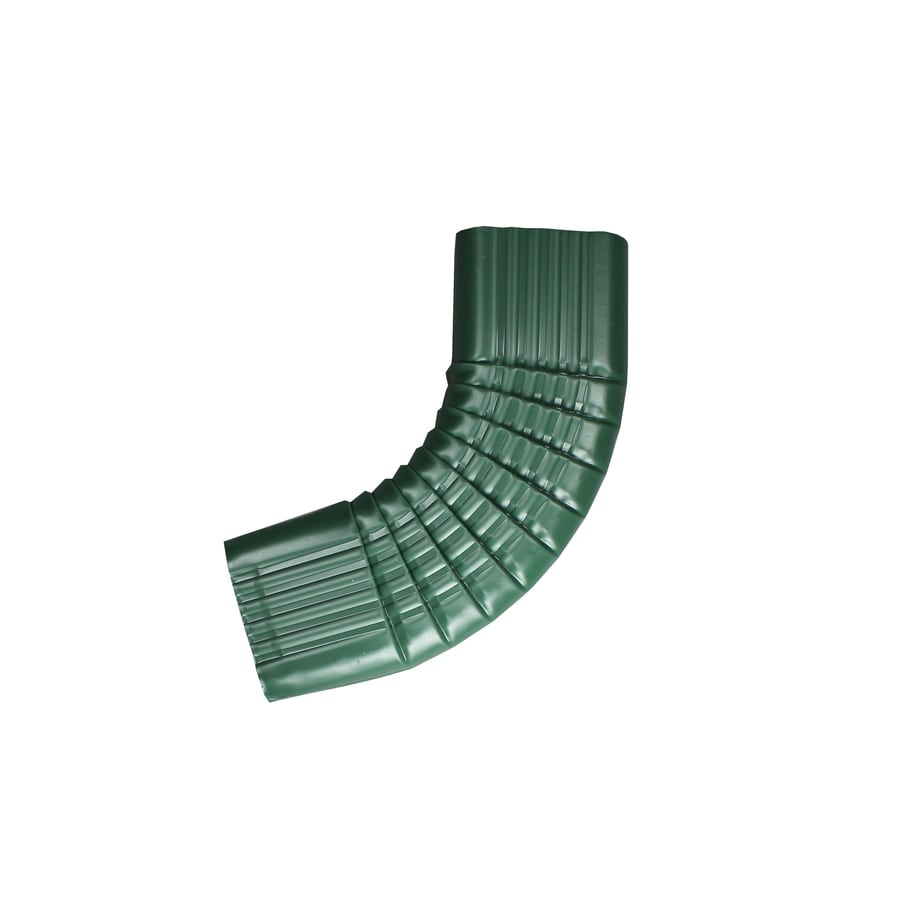 Spectra 2-in Forest Green Metal Side Elbow