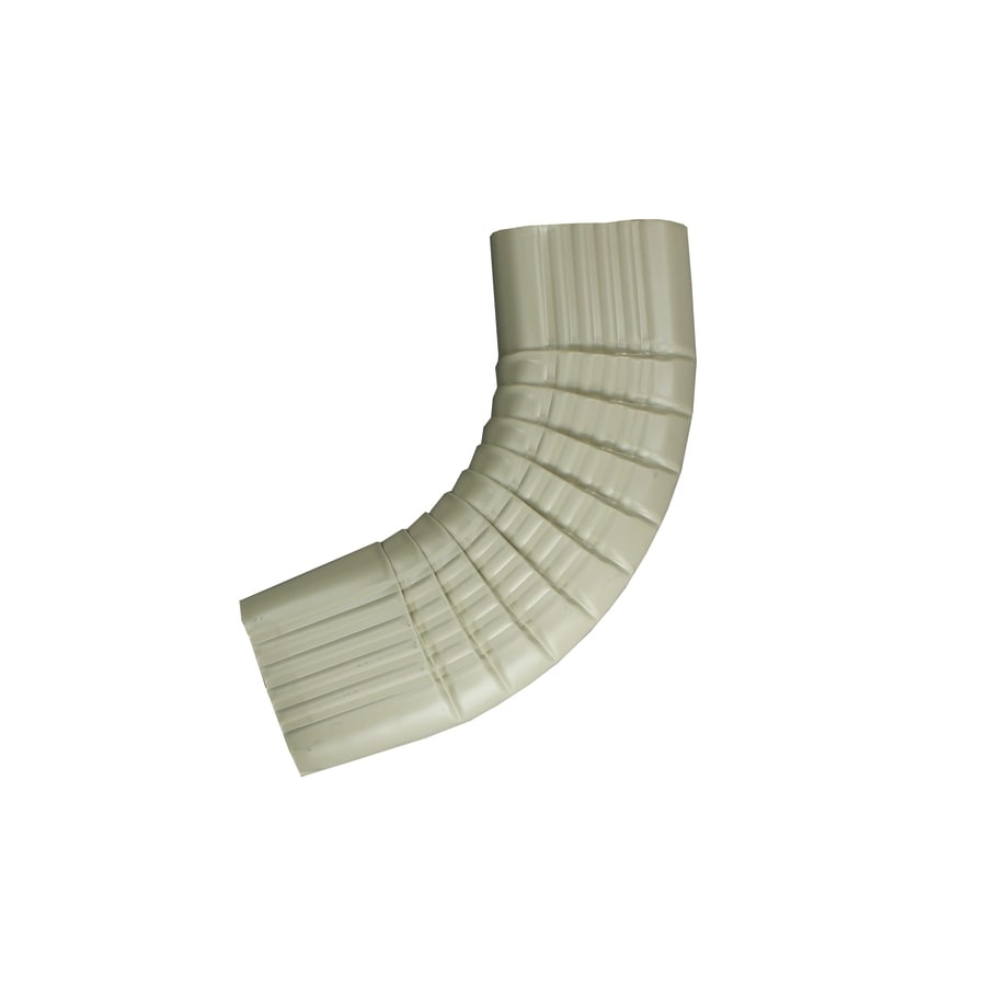 Spectra 2-in Wicker White Metal Side Elbow