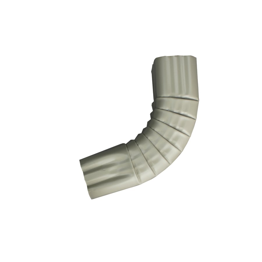 Spectra 3-in Clay Metal Front Elbow