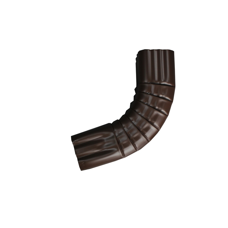 Spectra 4-in Royal Brown Metal Front Elbow
