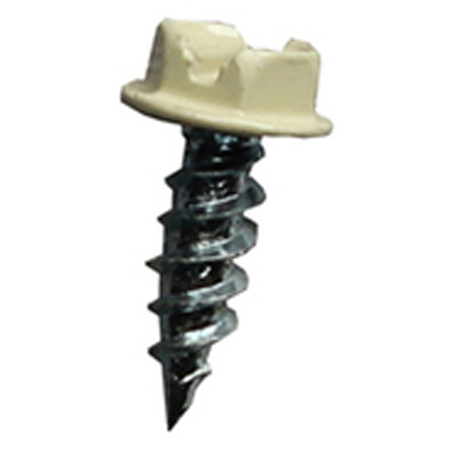 Spectra 10-Count #8 x 0.5-in Aluminum Self-Tapping Socket Hex-Drive Exterior Standard (SAE) Sheet Metal Screws
