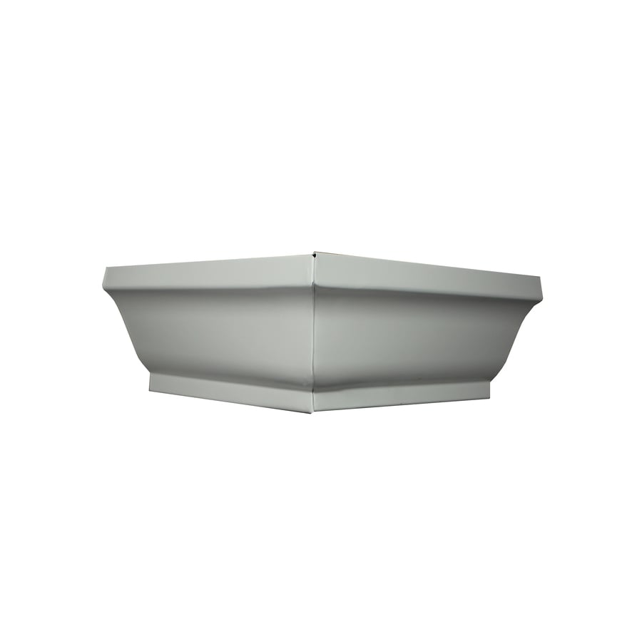 Spectra 5-in x 7.25-in K Style Gutter Outside Corner