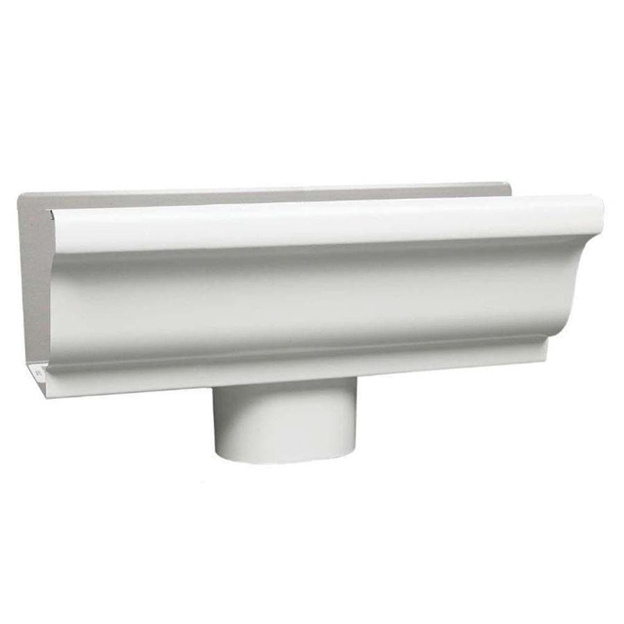 Spectra 5-in x 12-in K Style Gutter End with Drop