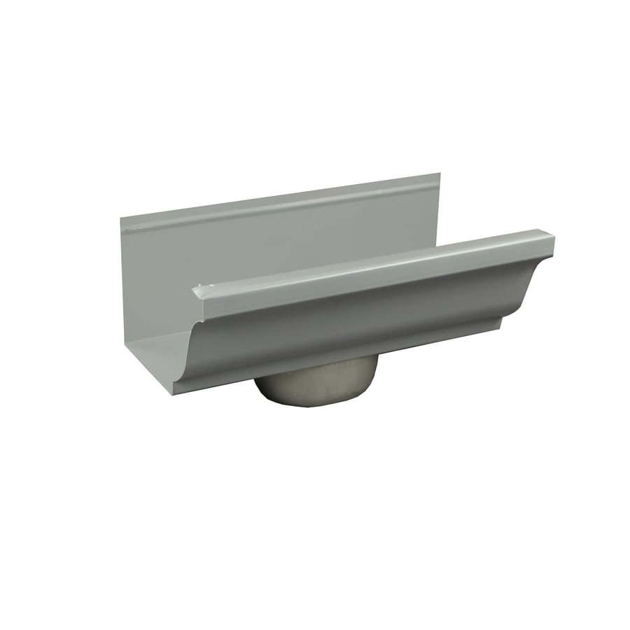 Spectra Aluminum K Style Left Gutter End Cap