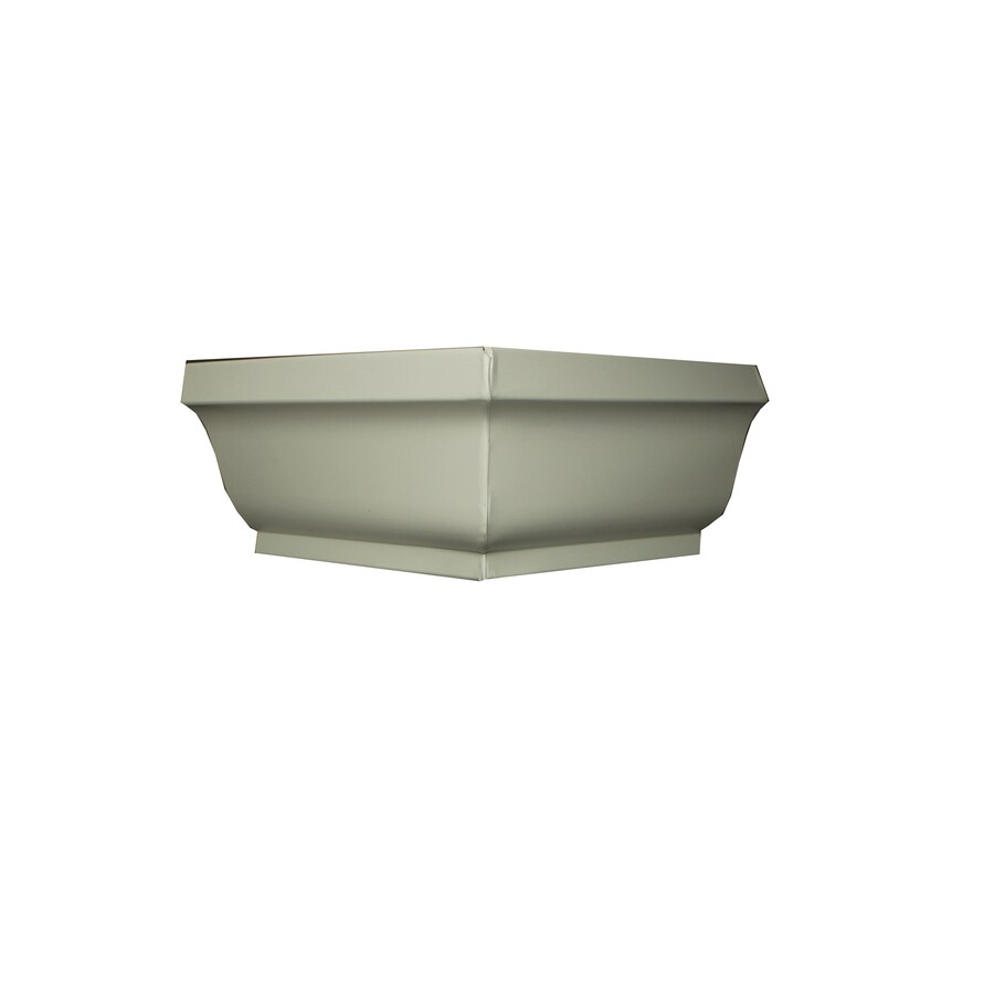 Spectra 6-in x 10-in K Style Gutter Outside Corner