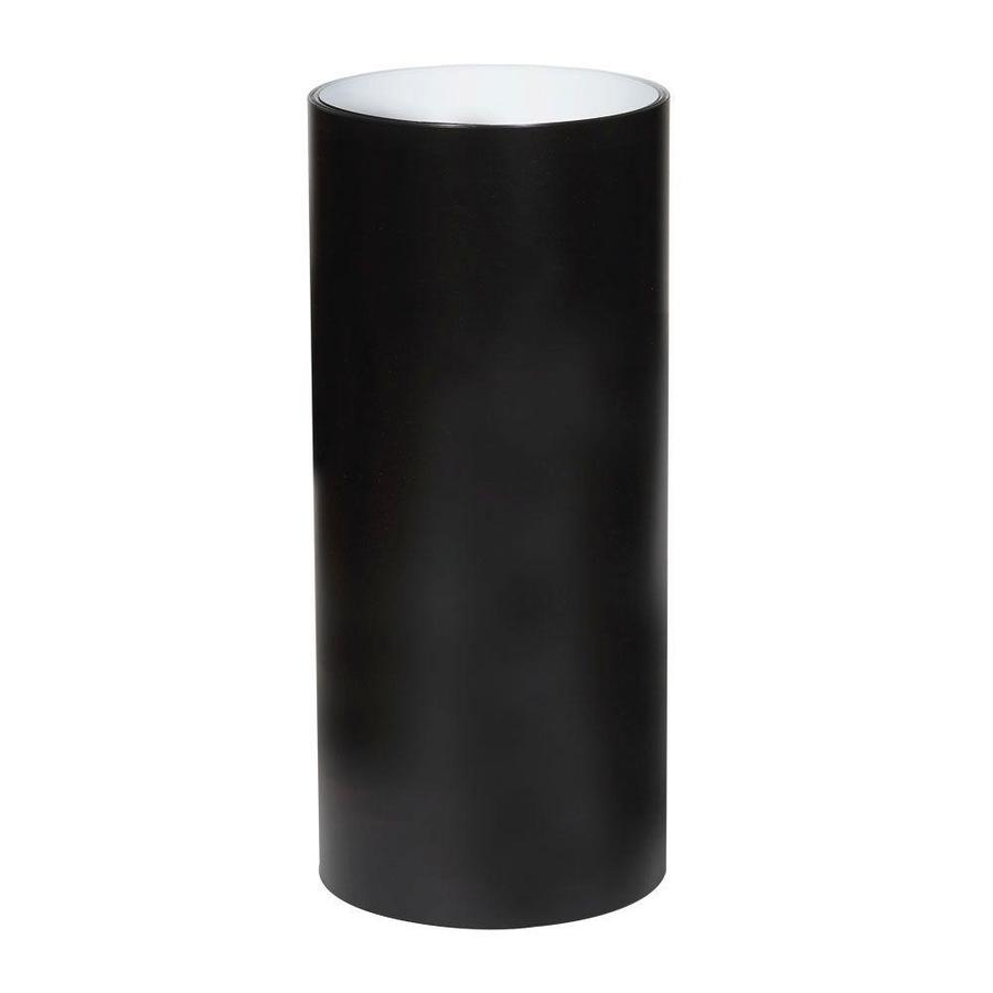 Spectra 24-in x Actual Length Smooth Black Over White Trim Coil Trim Coil Metal Siding Trim