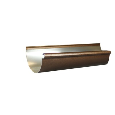 Spectra 7-in x 12-in Half Round Gutter at Lowes com