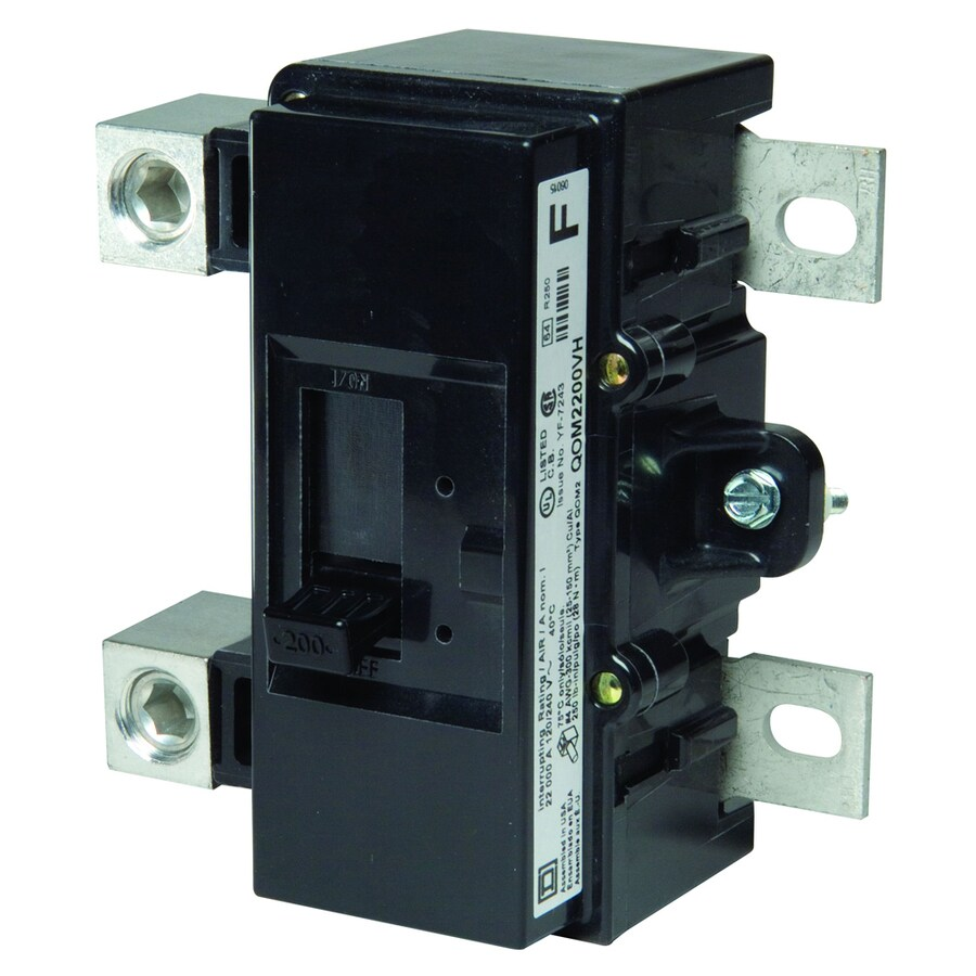 Square D Qo 200-Amp 2-Pole Double-Pole Circuit Breaker