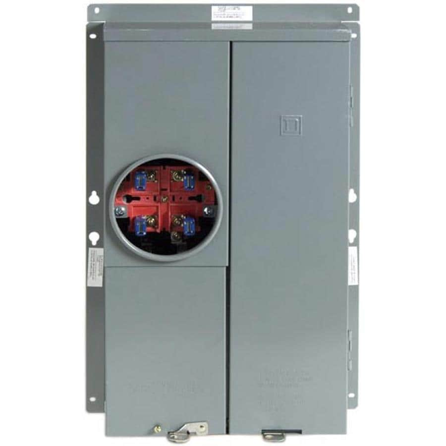 Square D 24-Circuit 16-Space 125-Amp Main Breaker Load Center