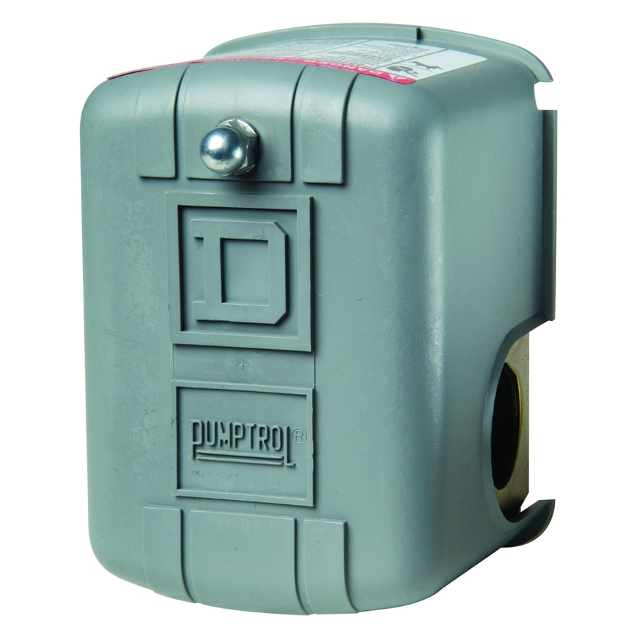 Square D 80/100-PSI Plastic cover on metal base Pressure Switch