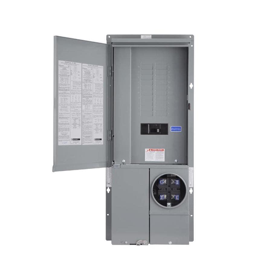 wiring diagram for residential meter base meter panel