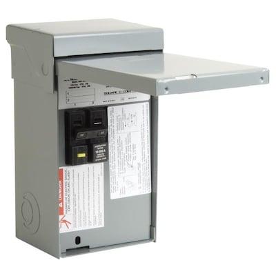 50-Amp Non-Fusible Metallic SPA on
