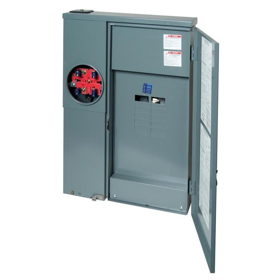 Square D 12-Circuit 12-Space 200-Amp Main Lug Load Center