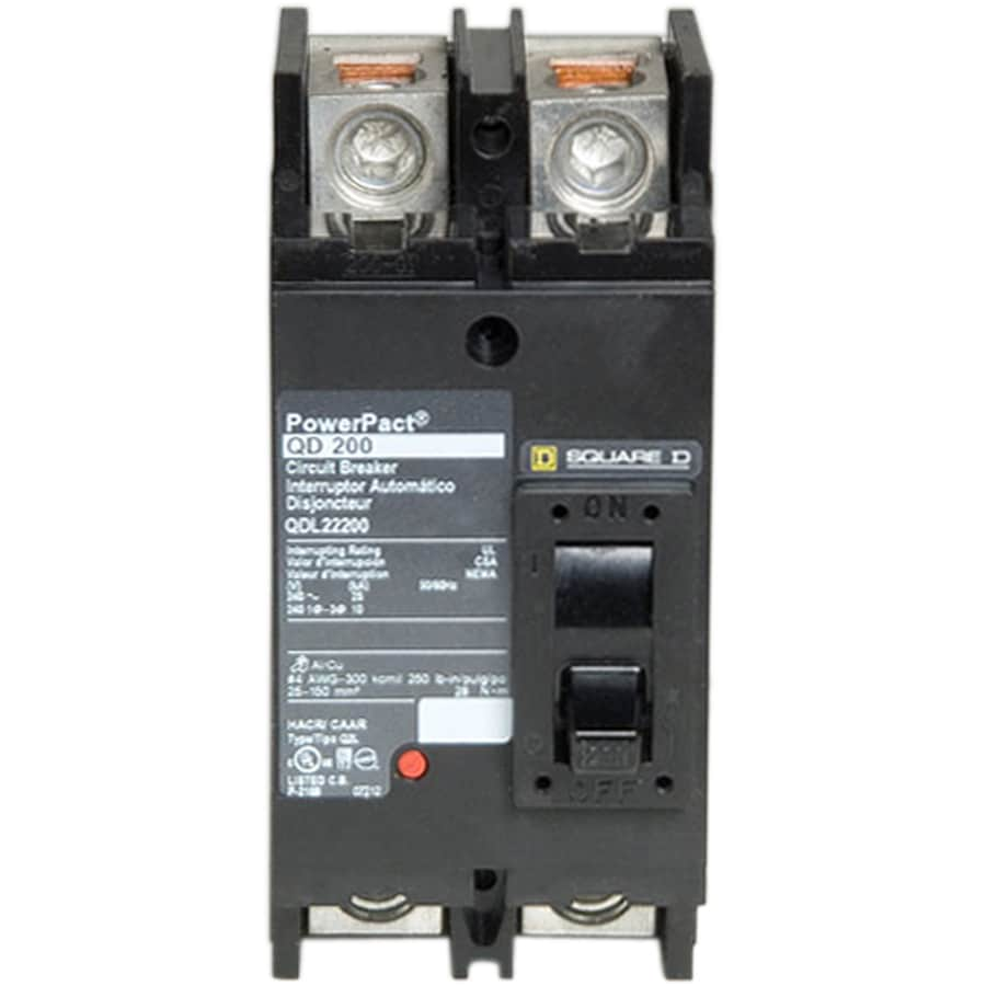 Square D QO 200-Amp 2-Pole Circuit Breaker