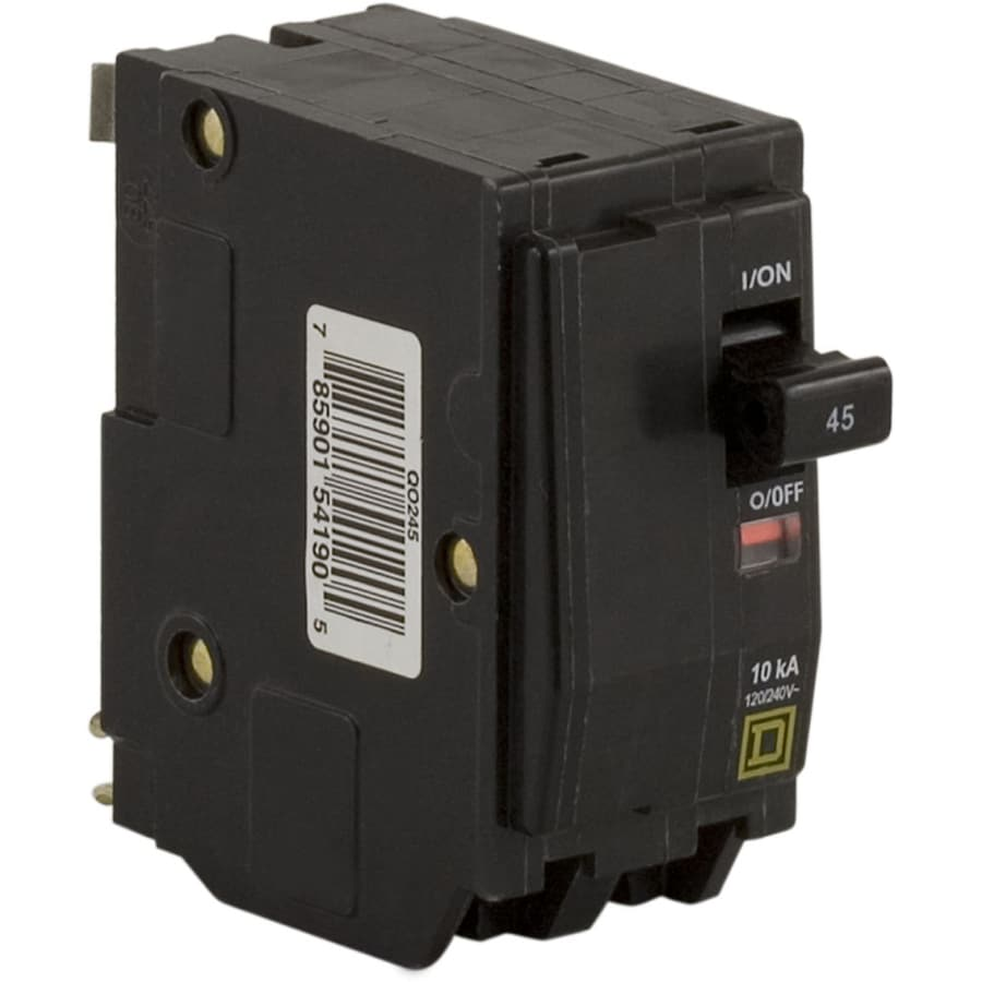 Square D Qo 45-Amp 2-Pole Double-Pole Circuit Breaker
