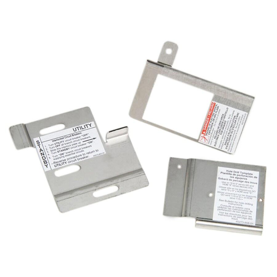 square d load center generator interlock kit at lowes com Interlock Transfer Switch Diagram