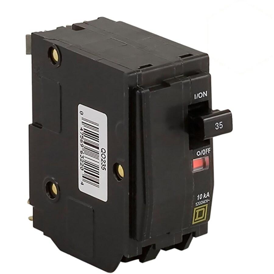 Square D Qo 35-Amp 2-Pole Double-Pole Circuit Breaker