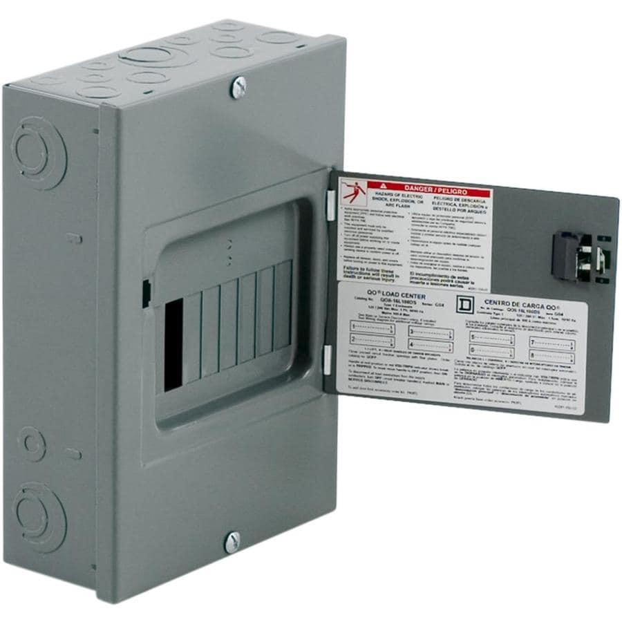 ... Square D 16-Circuit 8-Space 100-Amp Main Lug Load Center at Lowes.com