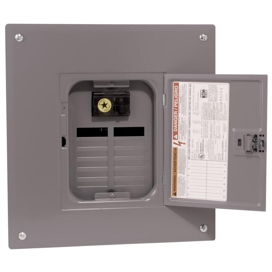 Square D 12-Circuit 12-Space 100-Amp Main Breaker Load Center