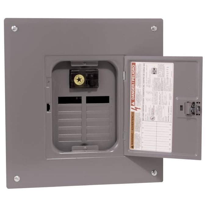 Square D 100 Amp 12 Spaces 12 Circuit Main Breaker Load Center In The Breaker Boxes Department At Lowes Com