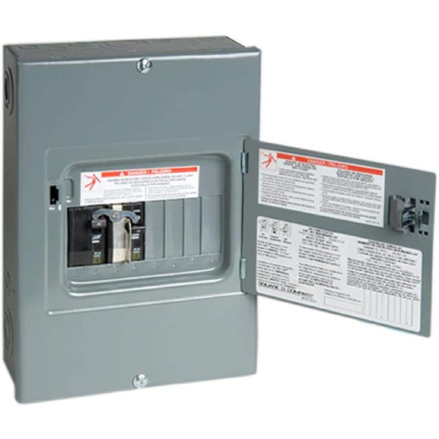 Square D 8-Circuit 4-Space 30-Amp Main Breaker Load Center