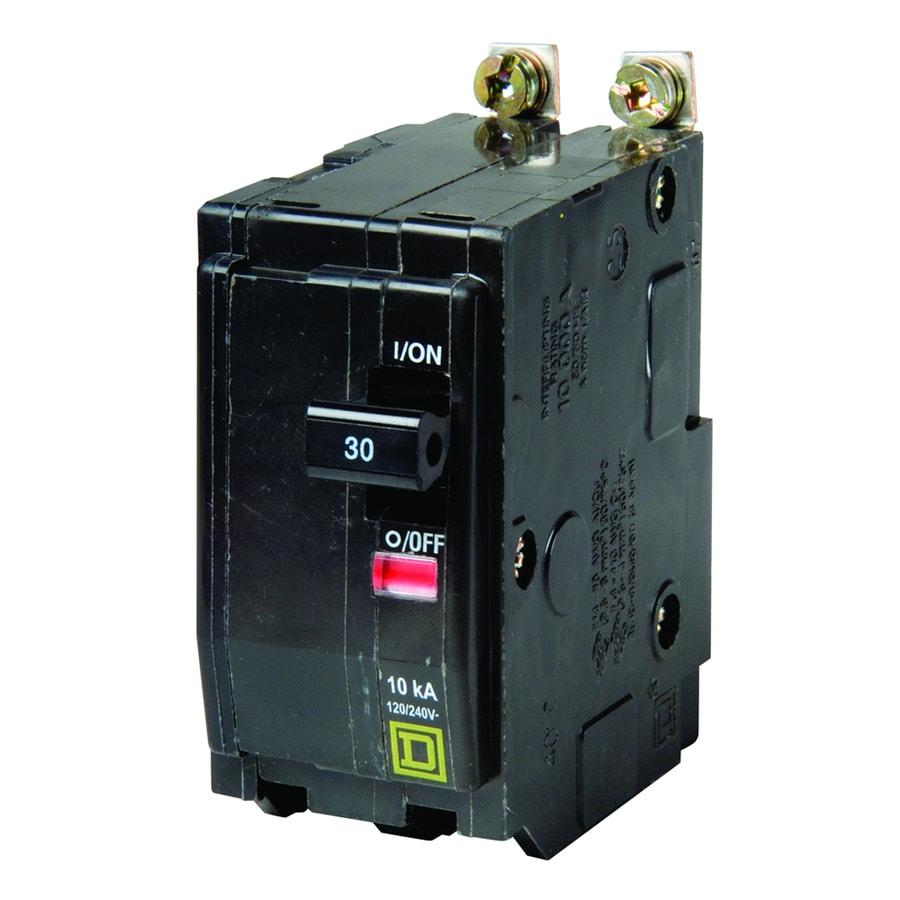 Square D QO 30-Amp 2-Pole Circuit Breaker