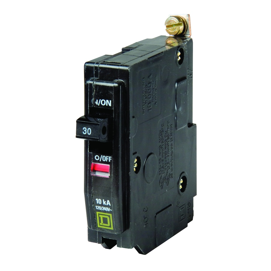 Square D QO 30-Amp 1-Pole Circuit Breaker