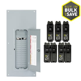 breaker boxes pro packs at lowesforpros comsquare d homeline 60 circuit 225 amp main lug convertible plug on neutral