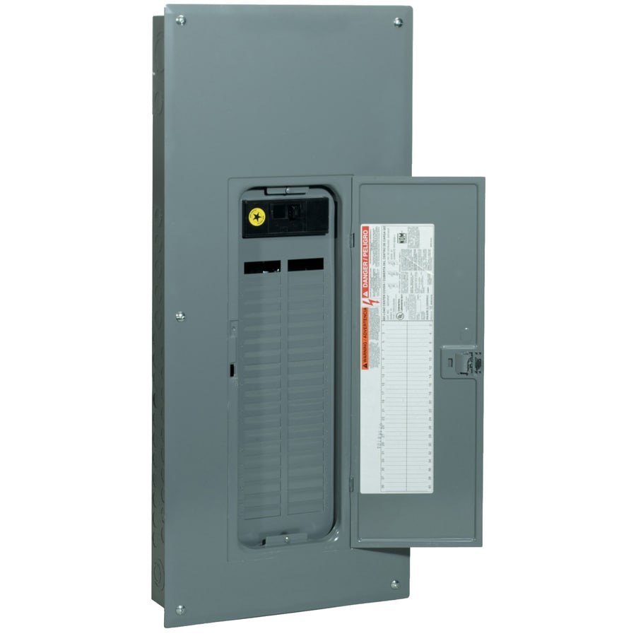 Square D 42-Circuit 42-Space 200-Amp Main Breaker Load Center