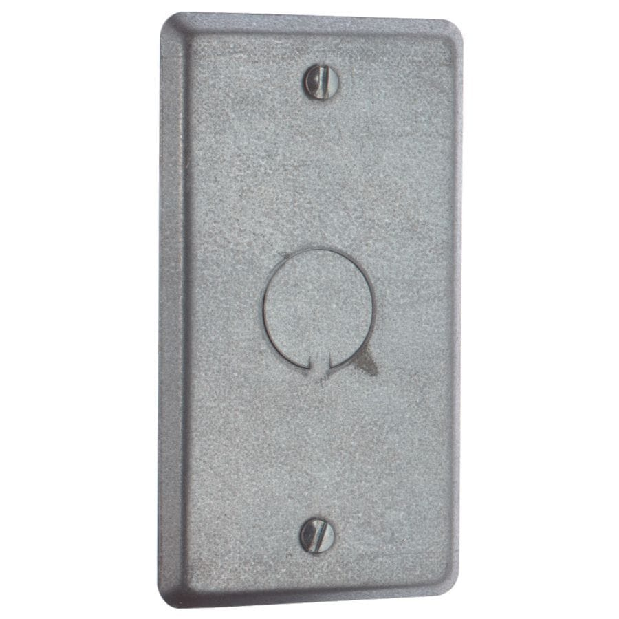 Shop STEEL CITY 1-Gang Rectangle Metal Electrical Box
