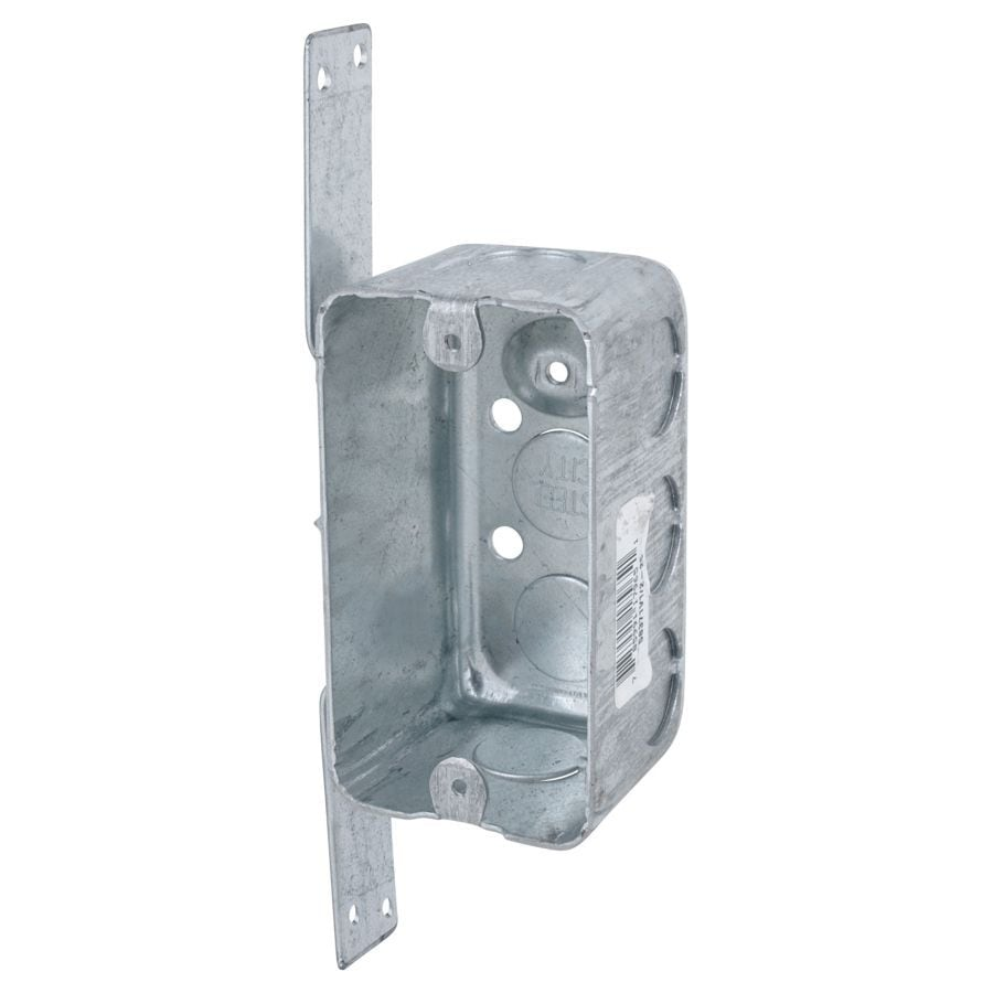 STEEL CITY 14.5-cu in 1-Gang Metal Handy Wall Electrical Box