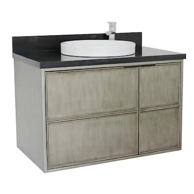 Cool Bellaterra Home Lv0500 Cab Ln Bgrd Single Vanity 37 In Linen Beutiful Home Inspiration Cosmmahrainfo