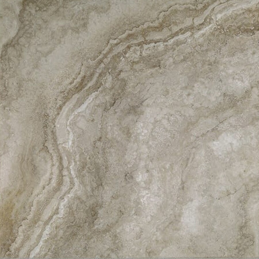 FLOORS 2000 Galapagos 10-Pack Mountain Mist Porcelain Floor and Wall Tile (Common: 12-in x 12-in; Actual: 12.69-in x 12.69-in)