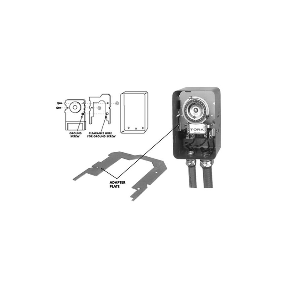 TORK Residential Lighting Timer Adapter Plate at Lowes com