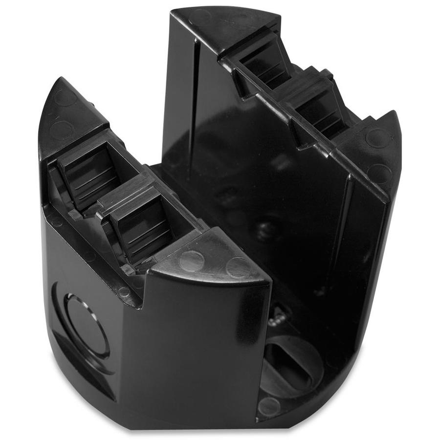 CARLON 1-Gang Black Plastic Interior New/Old Work Standard Saddle Boxes Ceiling Electrical Box
