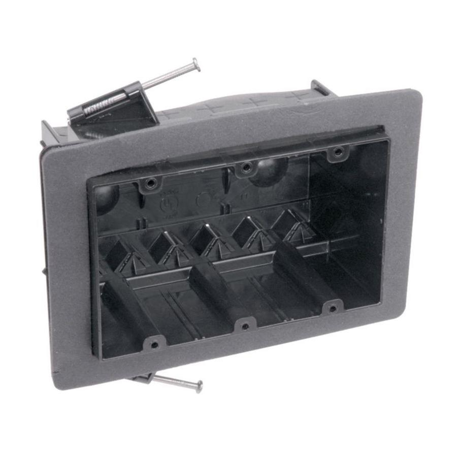 Shop CARLON 54-cu in 3-Gang Plastic New Work Wall Electrical Box at ...