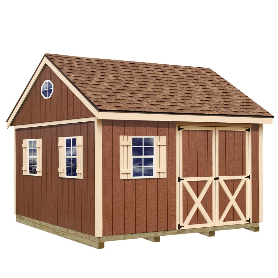 Shop Best Barns Common 12 Ft X 12 Ft Interior