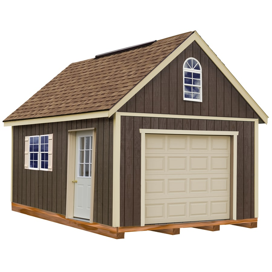 Best Barns Glenwood Without Floor Gable Engineered Wood Storage Shed (Common: 12-ft x 20-ft; Interior Dimensions: 11.42-ft x 19.17-ft)