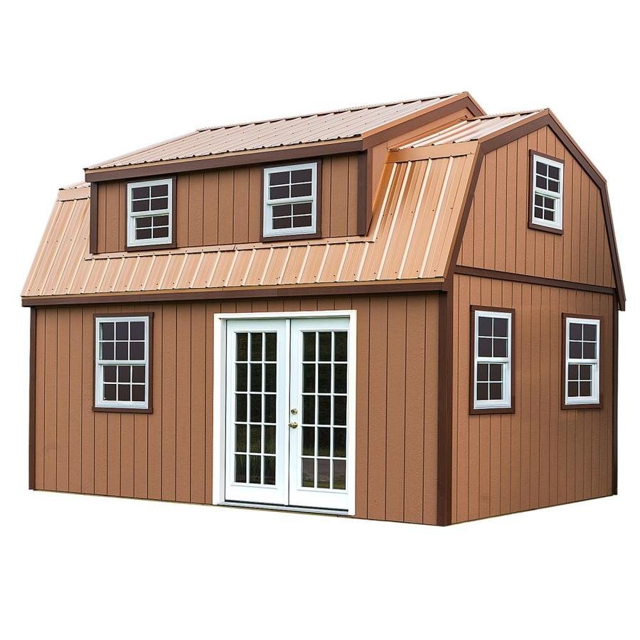 Best Barns (Common: 12-ft X 18-ft; Interior Dimensions: 11