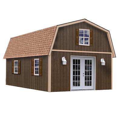 Best Barns Richmond Without Floor Gambrel Engineered Wood